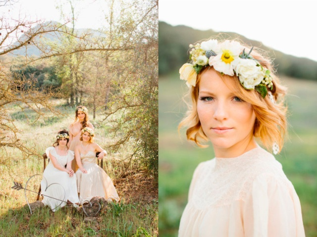 lovely-event boho wedding girls dressed