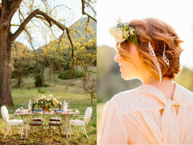 lovely-event boho wedding together